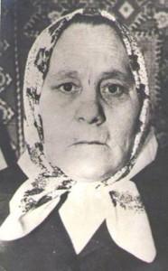 Вдова Воронкова Мария Михайловна