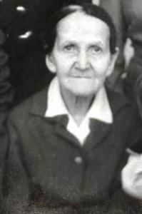 Вдова Глухих Агния Ивановна