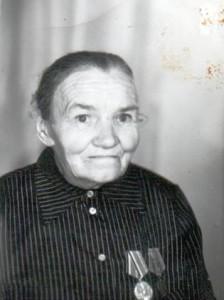 Вдова: Киселёва Прасковья Константиновна