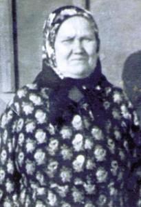Вдова Моденова Анна Яковлевна