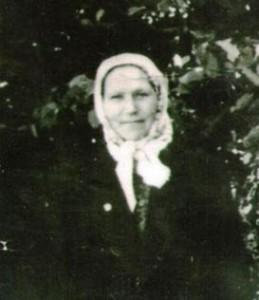 Вдова Маслова Ксения Григорьевна