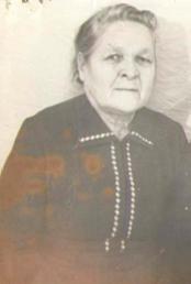 Вдова – Кондовина Анфиса Семеновна