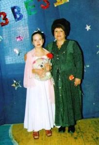Дочь Нины Михайловны: Евгения и внучка Галя