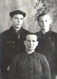 Вдова и дети