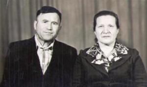 Дочь Бормотова  Нина Васильевна с мужем Виталием Степановичем.